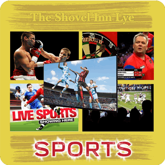 Sports events at The Shovel